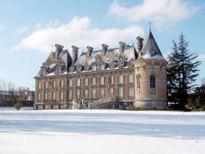 Le château de Trélon.
