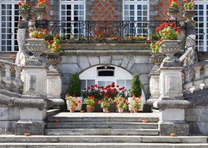 Façade du château de Trélon