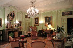 Les salons du château de Trélon