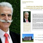 Conference by colonel Salvador, former commander of the Republican Guard, on Saturday the 13th of October